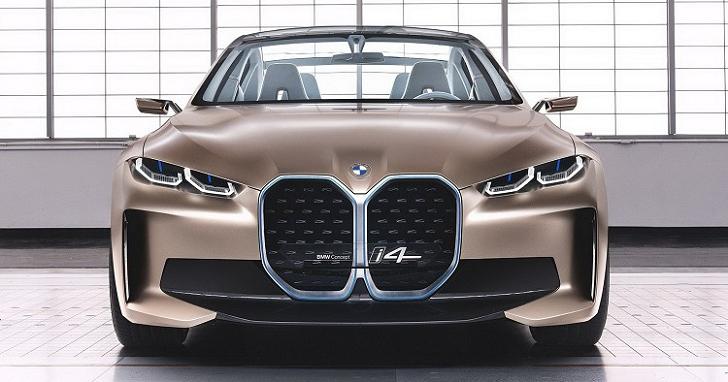 BMW Concept i4 不只有著新 Logo,還找來 Hans Zimmer 調校引擎聲
