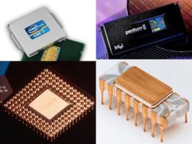 微處理器 40年,Intel 重要產品歷史年表+圖片展