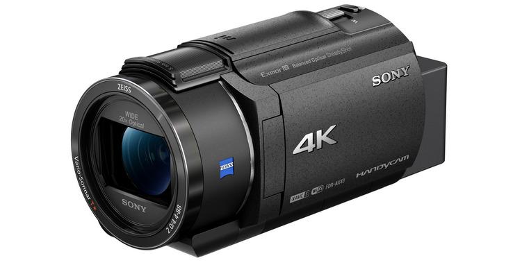 全方位防手震、20倍變焦,Sony 4K Handycam數位攝影機FDR-AX43輕巧上市