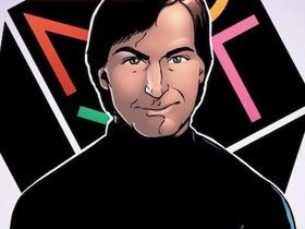 賈伯斯化身為漫畫人物,《漫畫版賈伯斯傳》內頁搶先看