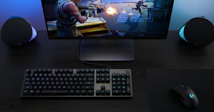 Logitech G推全新G512 GX線性軸、觸感軸機械式電競鍵盤