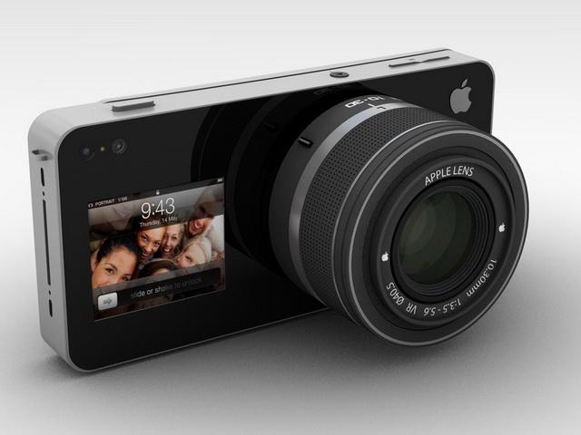 Apple iCam 概念機,讓 iPhone 5 變成 EVIL 相機