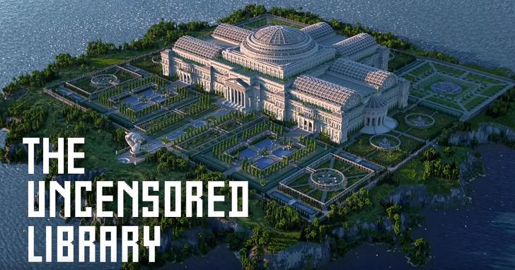 無國界記者找到新方法突破當地政府的新聞審查,那就是在《Minecraft》中建一座圖書館