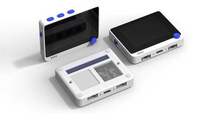 Wio Terminal開發板內建螢幕,還可跟Raspberry Pi合體