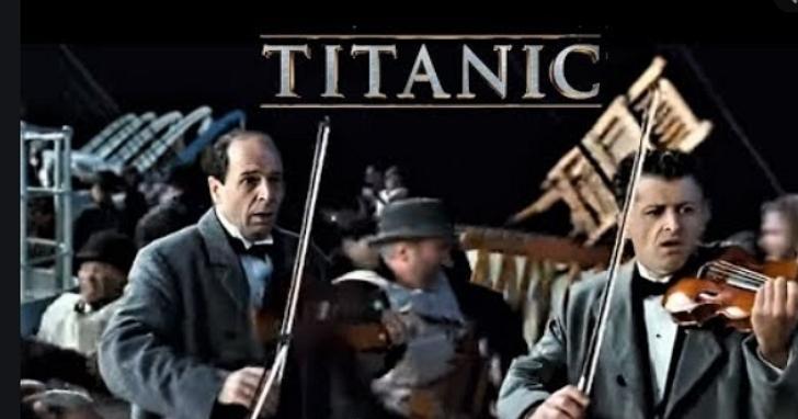 衛生紙之亂有如末日,兩位小提琴家在被掃空貨架前重現《鐵達尼號》經典插曲