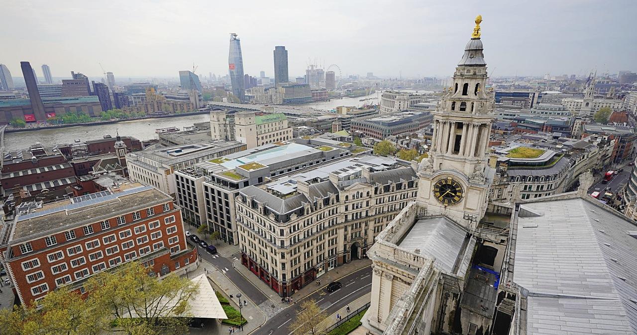 佛系防疫奏效?英國武漢肺炎前後街景對照,倫敦轉眼變空城紀實