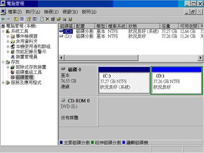 隨身碟被系統檔佔用空間,如何重新分割回復原本容量