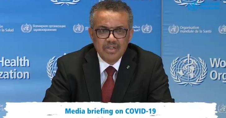 WHO秘書長譚德塞呼籲團結抗疫別再罵:2個月前我們浪費了一次機會,現在還有第二次機會