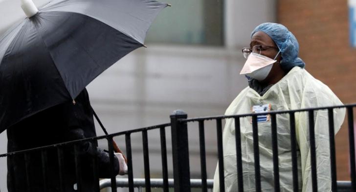 美國新冠確診人數超過中國、義大利,成世界最嚴重感染國