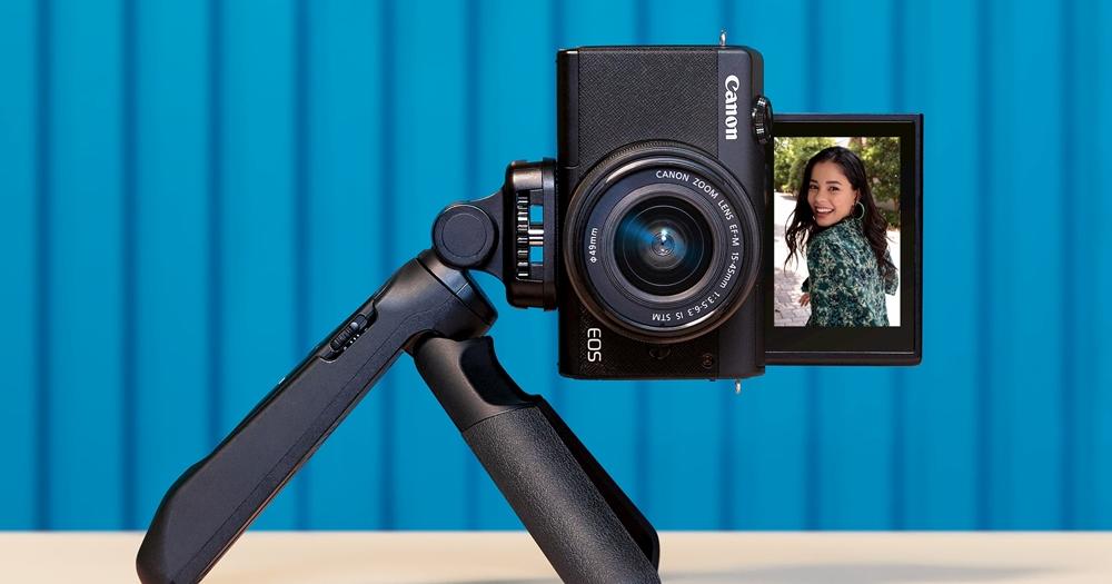 Canon 入門級自拍相機 EOS M200 即日起開賣,上掀式螢幕、可換鏡頭、單鏡組 18,900 元