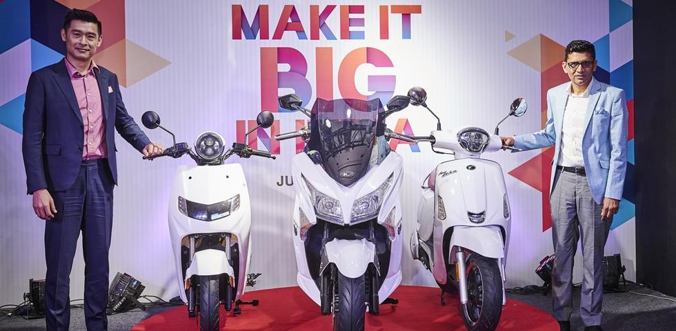 才說開始就分手,印媒爆料光陽「iONEX」車能網與印度合資「22Kymco」品牌,風光發表後就解散