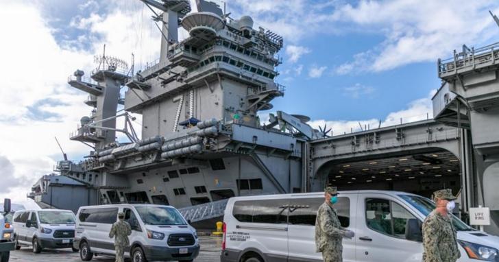 美國海軍代理部長解釋將羅斯福號航母艦長解職的原因:美軍不向潛在對手示弱