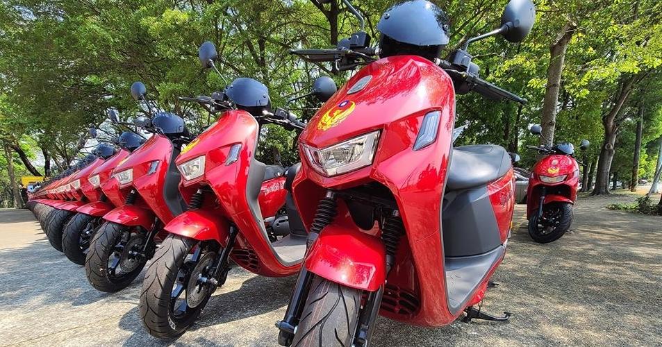 宏佳騰 Ai-1 Sport、Gogoro 3 電動車加入台南消防局勤務行列