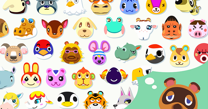《動物森友會》動物居民人口普查,最常見的動物居民前六名你都見過了嗎?