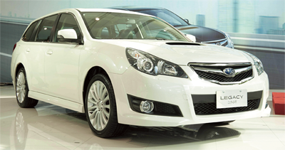 Subaru Legacy 2.5 GT Wagon:性能與安全的完美科技