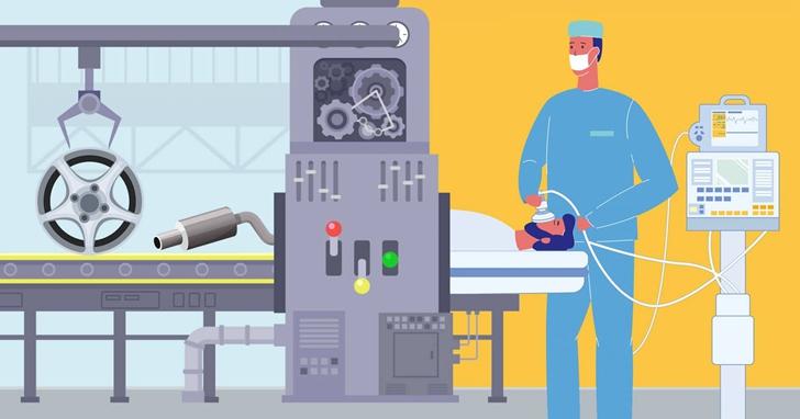 為什麼車廠能這麼快「轉型」製造呼吸器?