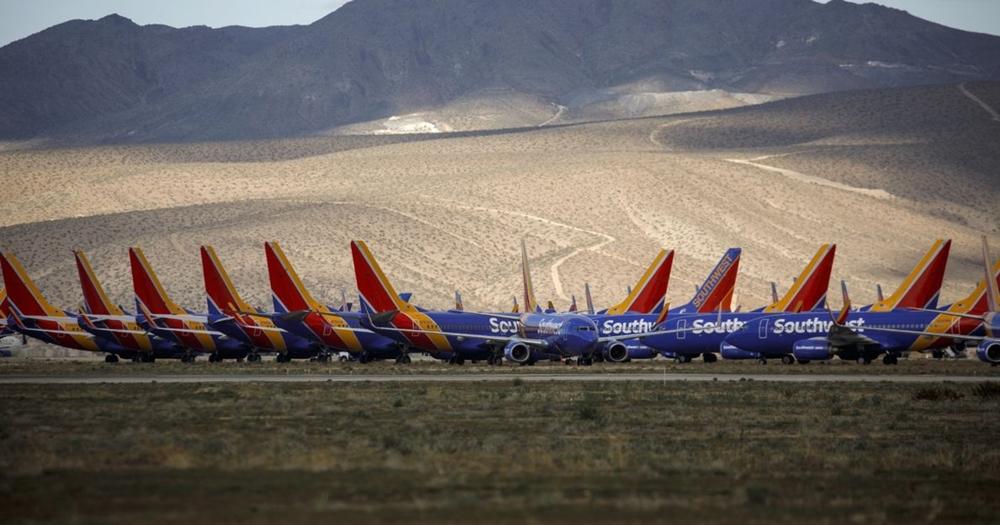 當全世界三分之二的飛機無法飛上空,停機坪會變成什麼樣子