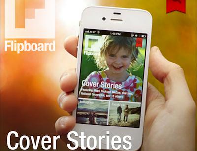 Flipboard 推出 iPhone 版,在手機上翻動 Facebook 訊息