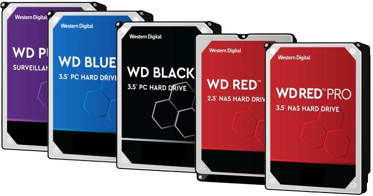 WD在承認紅標硬碟採SMR技術後,公布各系列硬碟使用的儲存技術
