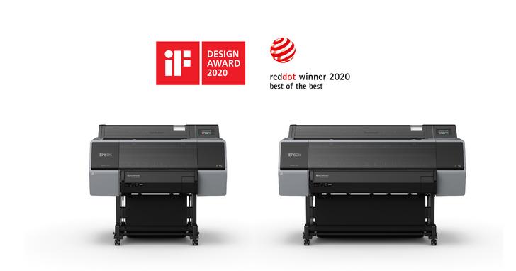 Epson全新12色廣色域高階影像繪圖機,獲2020德國紅點設計大獎以及iF產品設計大獎雙重殊榮