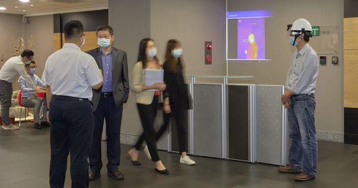 Epson攜手佐臻共組「台日防疫國際隊」,開發智慧眼鏡即時體溫探測方案