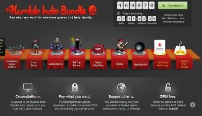 30元買5款遊戲, Humble Indie Bundle 第4彈來了