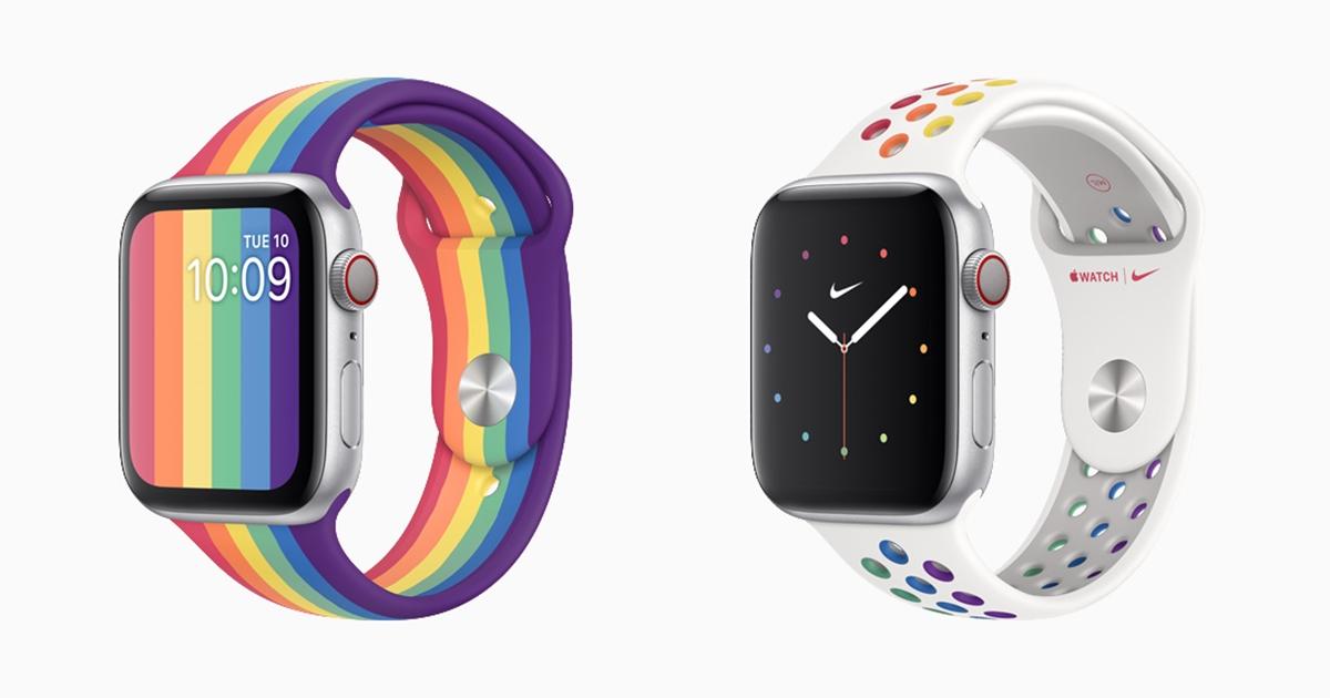 蘋果攜手 Nike 推出兩款新 Apple Watch 錶帶,力挺 LGBTQ 團體