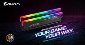 GIGIABYTE推出AORUS DDR4-4400記憶體,RGB炫光不能少
