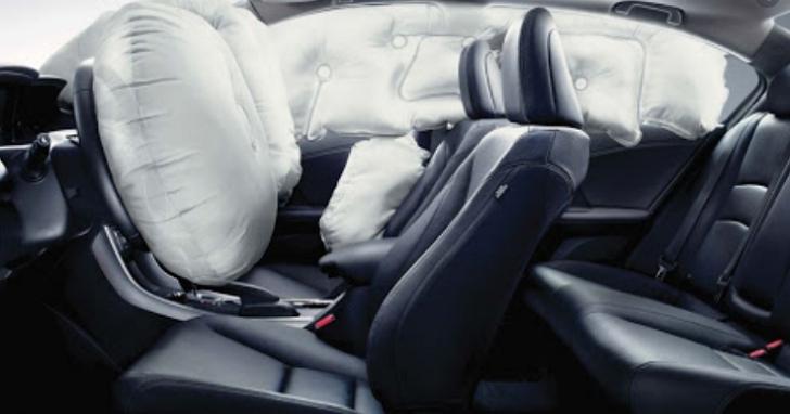 車內10個安全氣囊還不夠!HONDA要把安全氣囊裝在車外頭