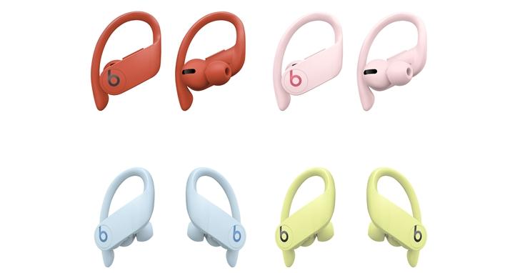 耳機也要繽紛一夏!Beats 真無線運動耳機 Powerbeats Pro 推出四款繽紛新色