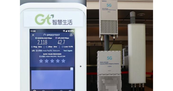 亞太電信宣布採三共 5G 合作形式,並首度展演 28GHz 5G 頻寬測試