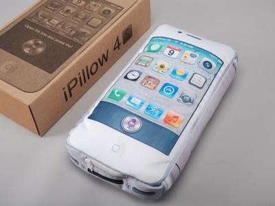 iPillow 4S:iPhone 4S 太貴?那來買抱枕吧