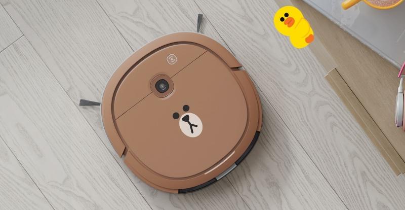超可愛熊大掃拖機器人明天開賣!5.7 公分超薄、售價 9,900 元