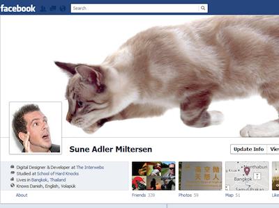 創意搞怪 Facebook Timeline 封面,給大家做參考