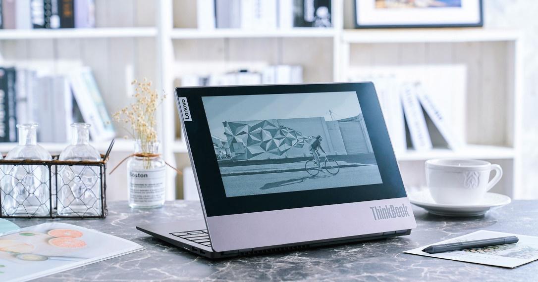 「雙面」好拍檔 Lenovo ThinkBook Plus 深度評測:背蓋整合電子墨水螢幕,創造筆電多元新用途!