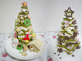 超可愛聖誕蛋糕食譜,平底鍋就能作,親子情侶一起 DIY