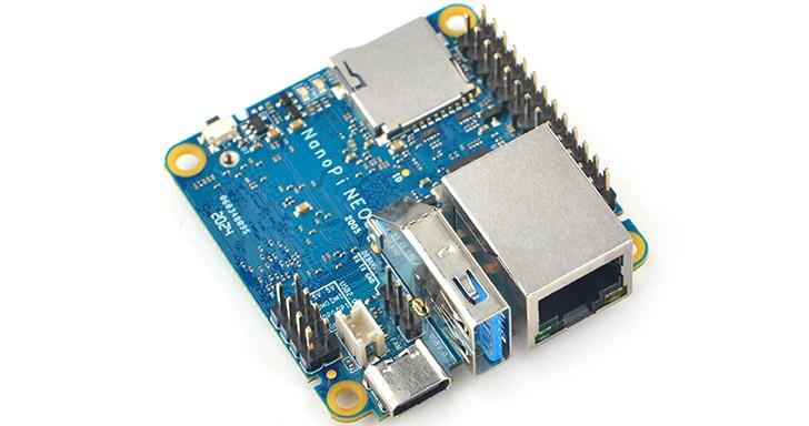 FriendlyELEC推出NanoPi NEO3單板電腦,5公分見方主打網路應用