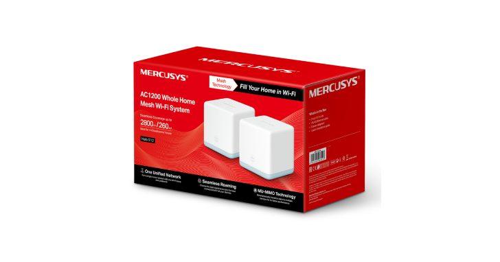 Mercusys Halo S12 Mesh 路由器,小資輕鬆建立「零死角」網路環境