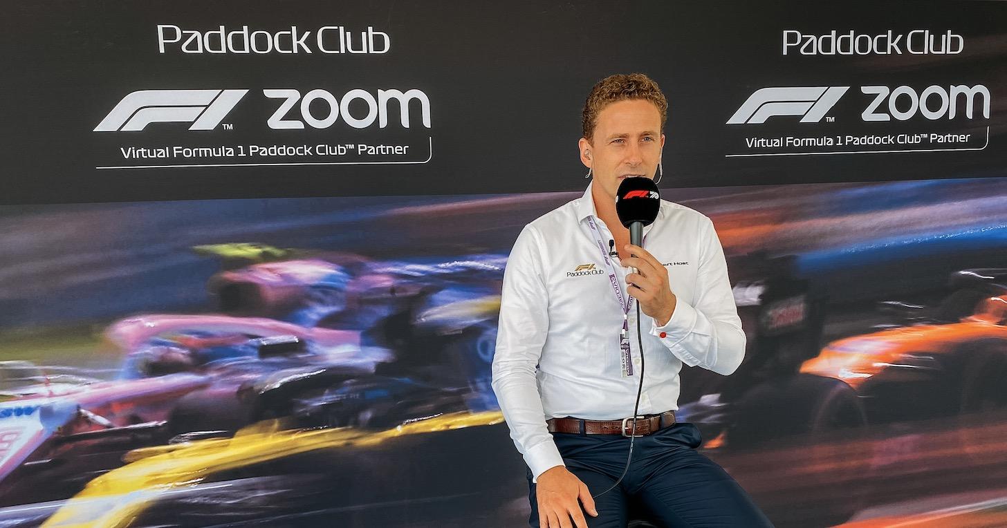 Formula 1 和 Zoom 攜手推出首次虛擬 Paddock Club 合作