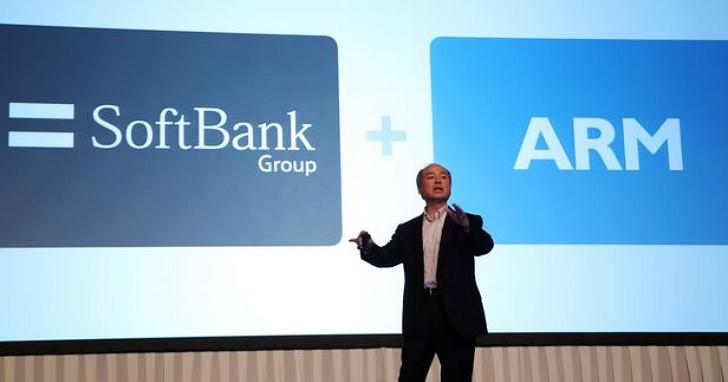 軟銀傳出考慮要出售Arm股權,韓媒勸進三星「把握這千載難逢的機會」