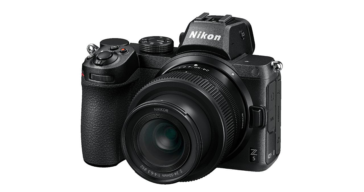 Nikon 最平價全幅無反 Z5 正式發表,新款 Kit 鏡 24-50mm F4-6.3 同台亮相