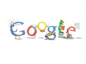 T週刊:19個 2011年節慶 Google Doodle 塗鴉回顧