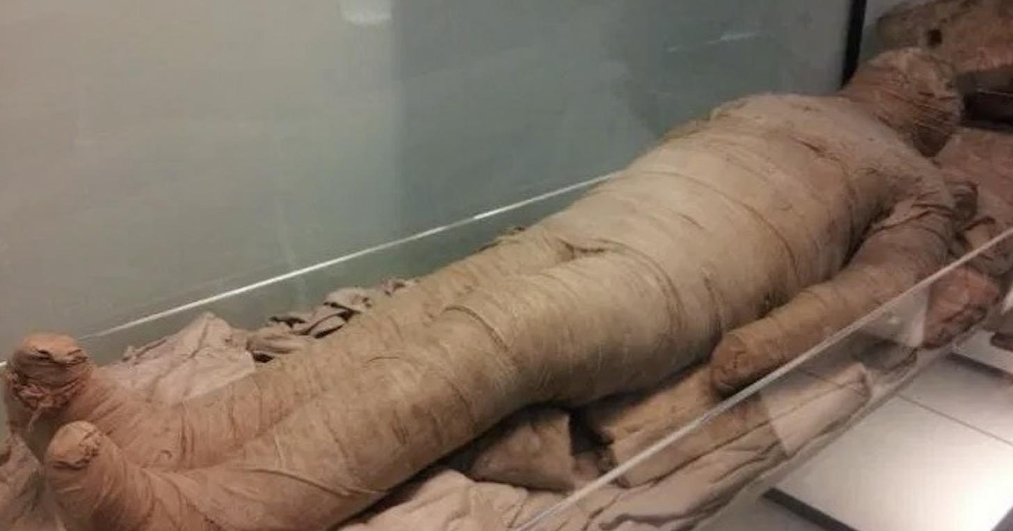 困擾考古學家139年,埃及「尖叫女子」木乃伊死狀悽慘之謎終於解開