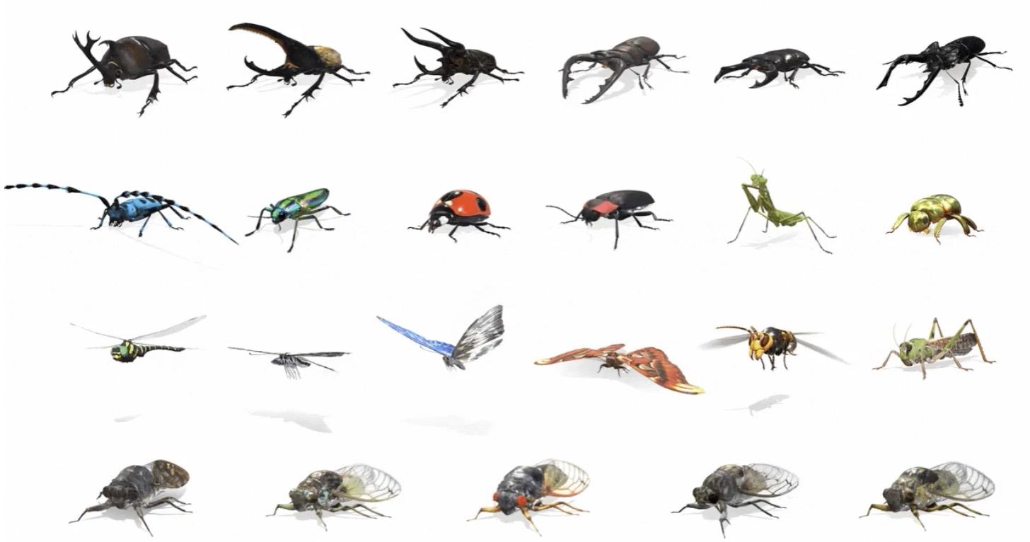 嚇到吃手手!Google又添加了23種昆蟲在其AR搜尋結果當中