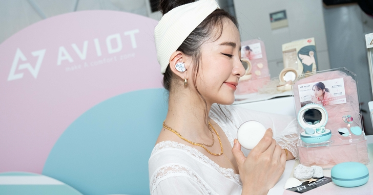小資族也能輕鬆入手!AVIOT 在台上市 TE-D01i 馬卡龍造型真無線耳機,售價 3,290 元