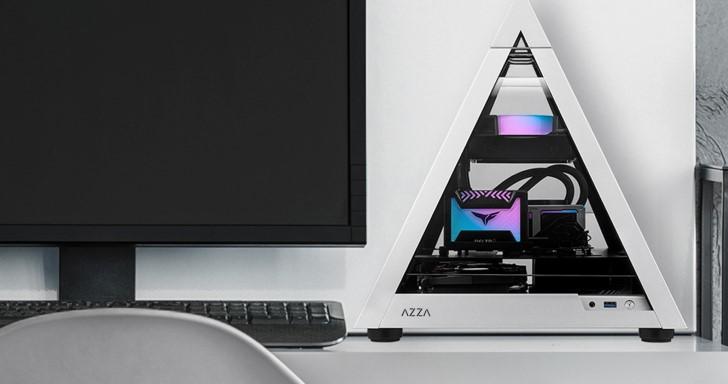 Azza推出迷你款金字塔機殼,Pyramid Mini 806相容Mini ITX主機板