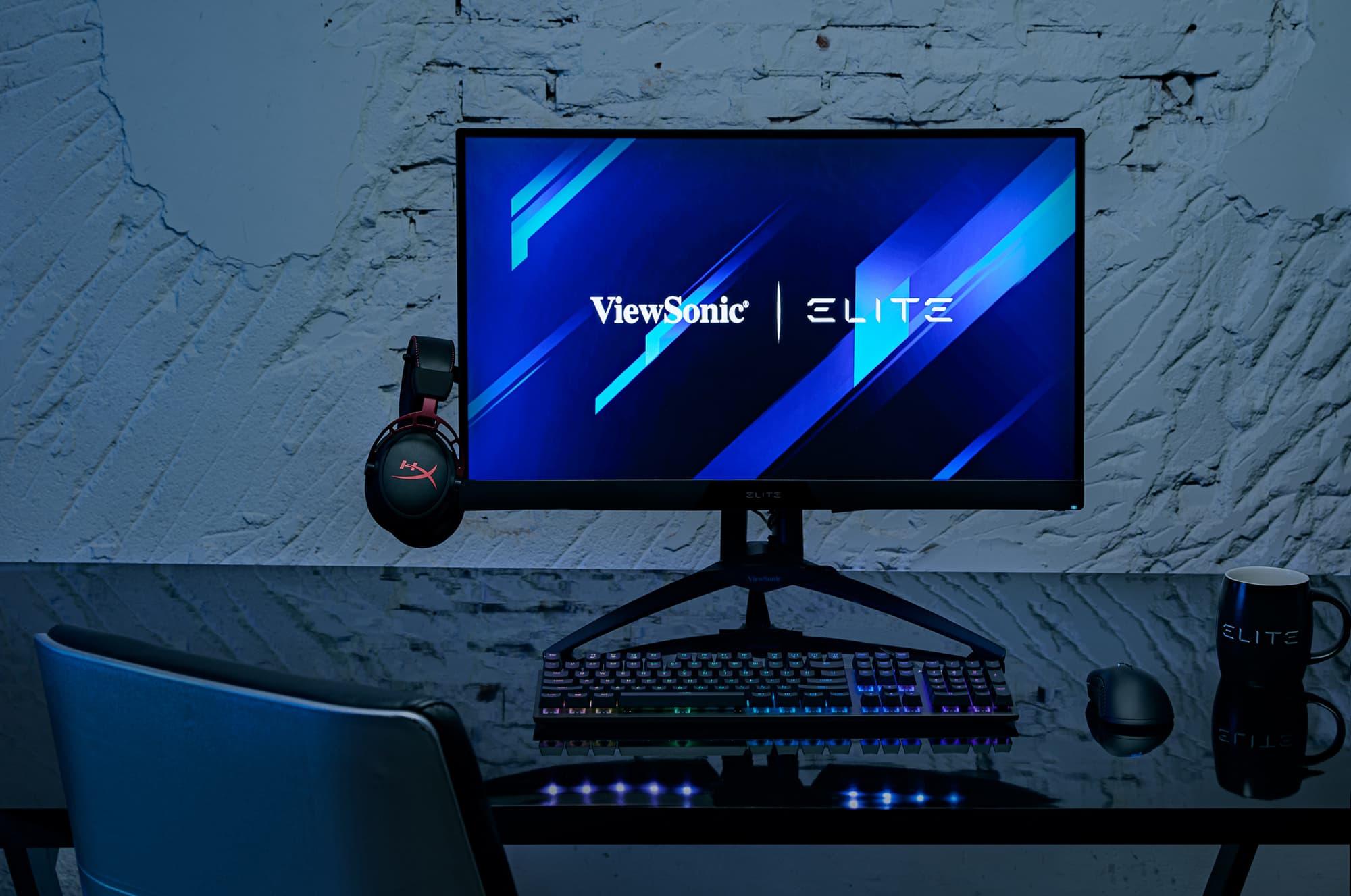 ViewSonic電競顯示器再添生力軍 全新27吋Elite™XG270QC 要讓玩家不傷荷包也能享受電玩新境界!