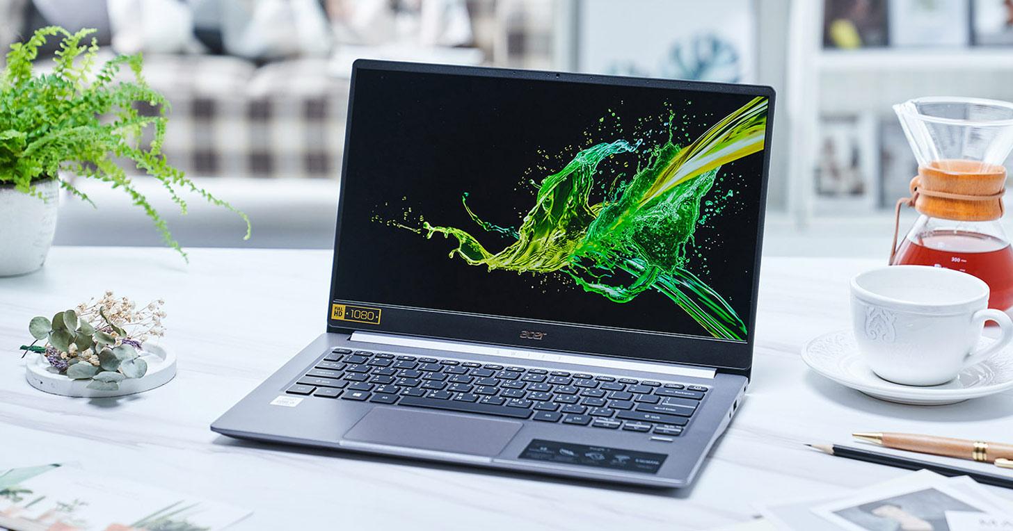Acer Swift 3 開箱實測:輕時尚筆電優質選,生產力、行動力兼具,還幫你省荷包!