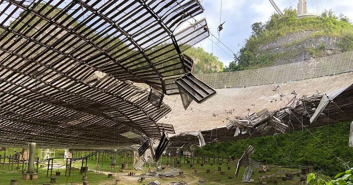 搜索外星文明的阿雷西博天文台嚴重受損,相關科學研究工作只能暫緩