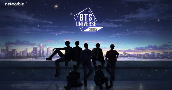 網石打造BTS手遊,預告網站 《BTS Universe Story》亮相